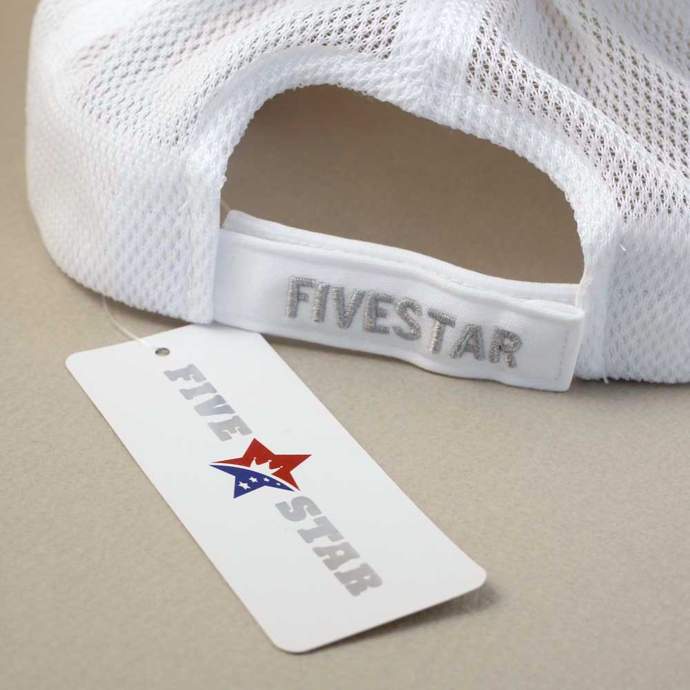 LBWK★FIVE STAR SUN VISOR White