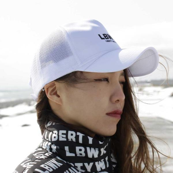 LBWK FIVE★STAR mesh cap White