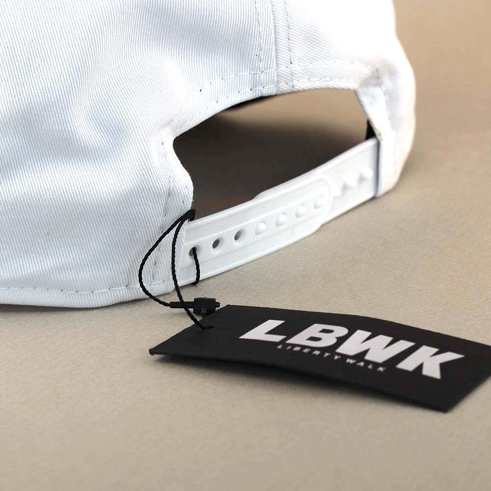 LBWK logo NEW ERA cap White